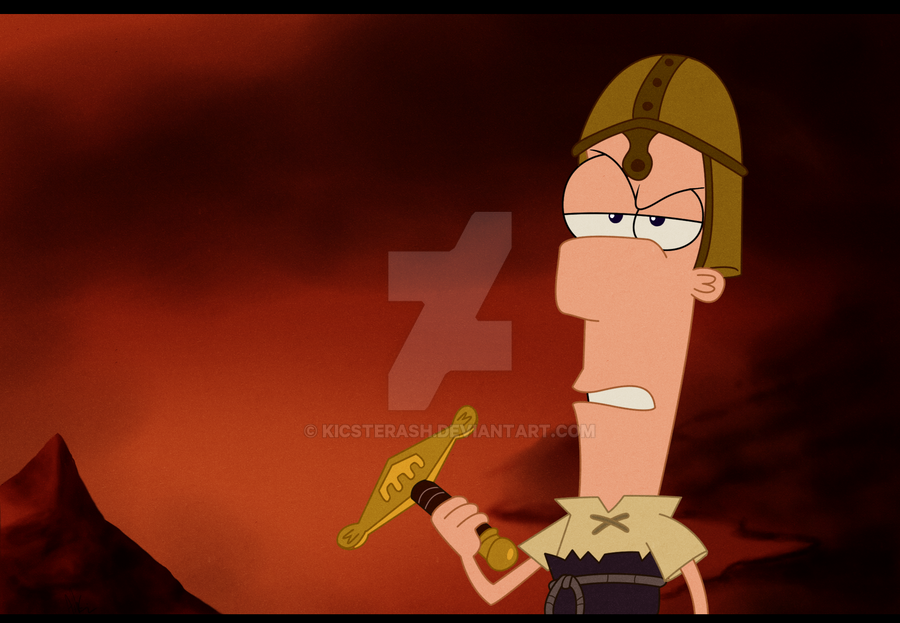 phineas and ferb excaliferb ending relationship