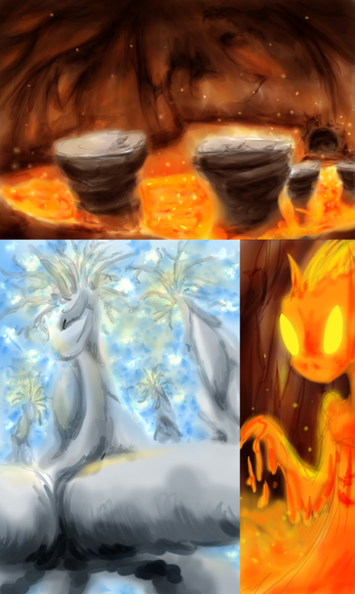 Cantoria Dream Sequences Concept Art by KicsterAsh