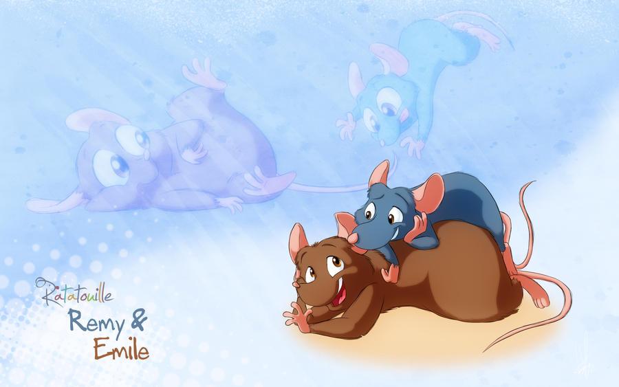 Ratatouille Emile
