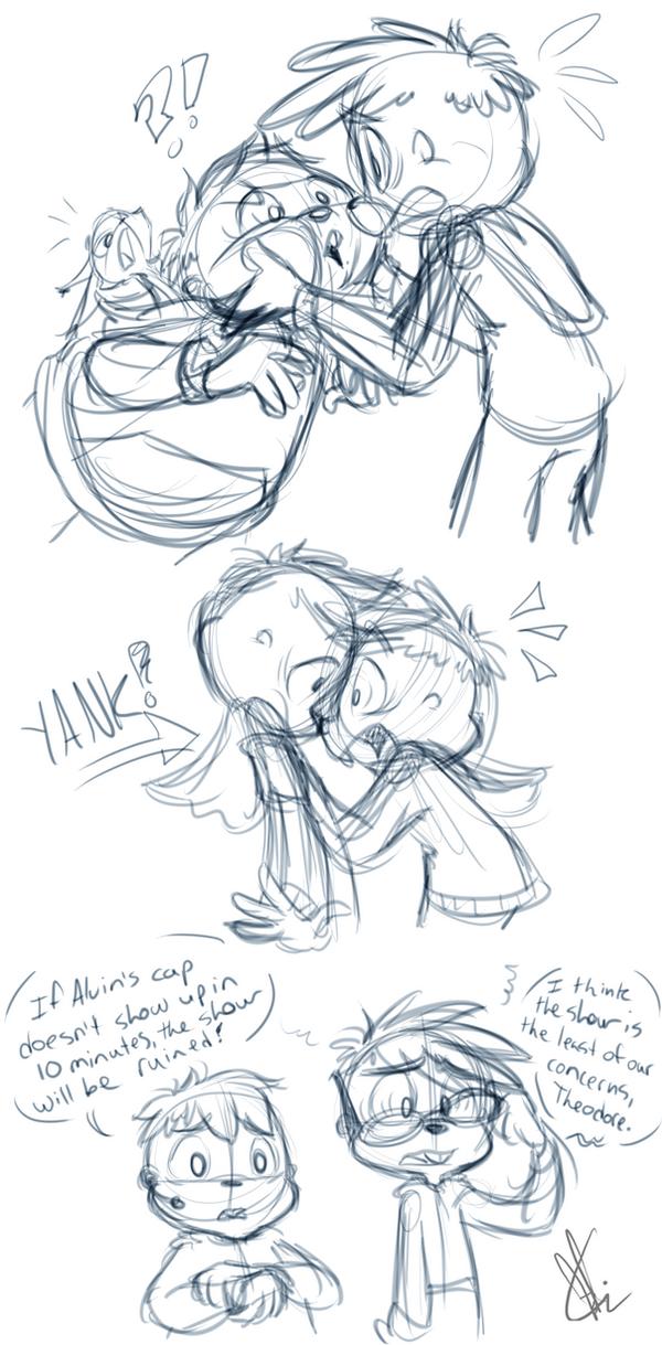 AATC story sketches by KicsterAsh