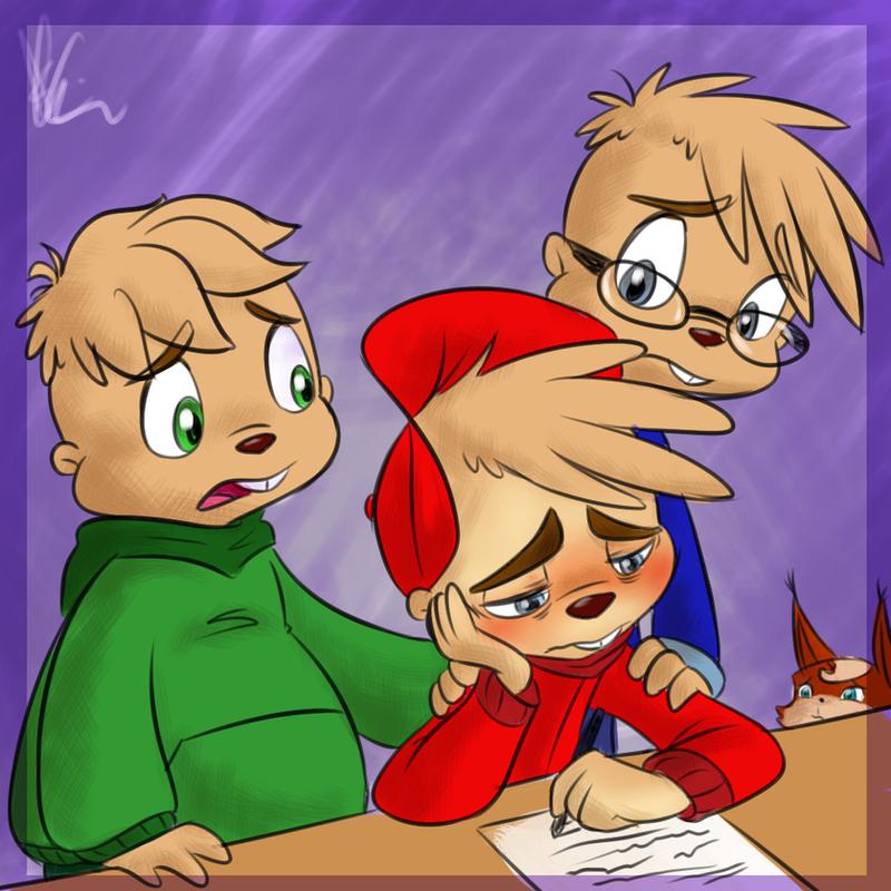 Sick Alvin by KicsterAsh