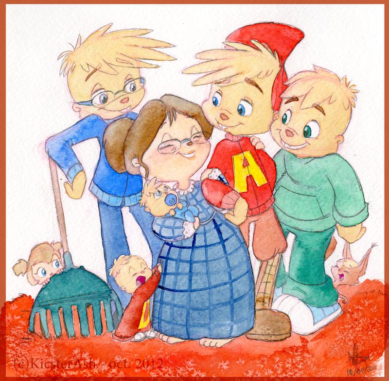 Autumn Family by KicsterAsh