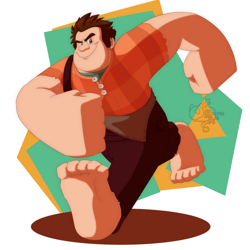 Wreck-It-Ralph by KicsterAsh