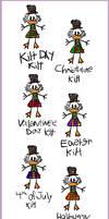 A Kilt for Every Holiday by KicsterAsh