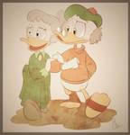 Scrooge and Matilda