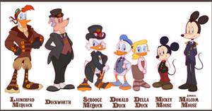 Steampunk Ducks 02