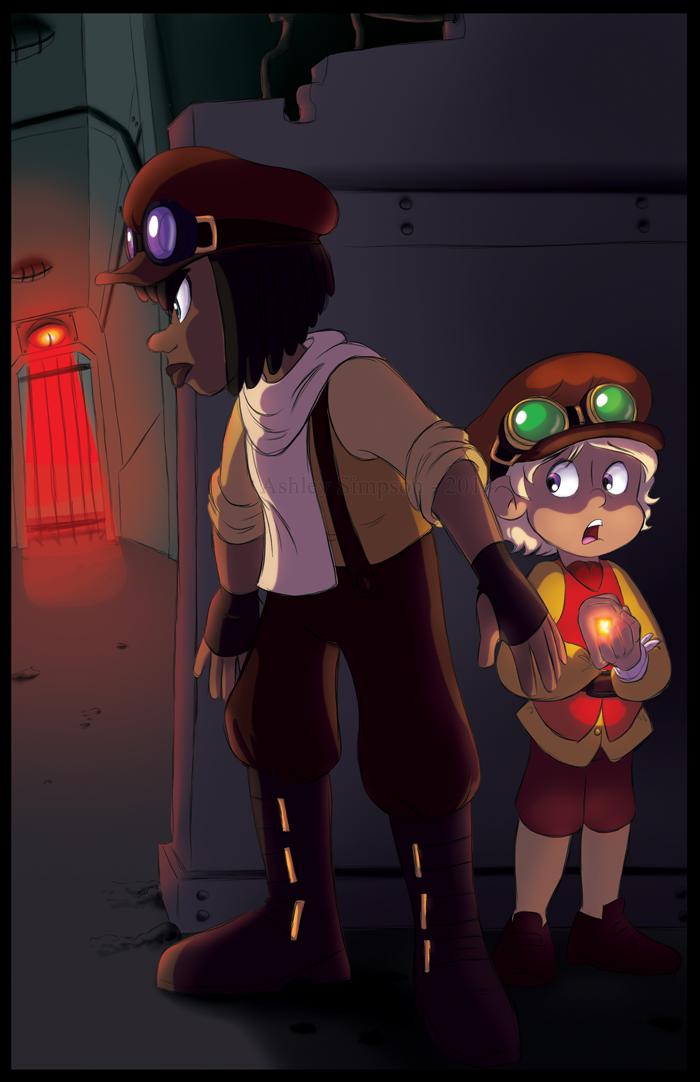 Steampunk story stuff by KicsterAsh