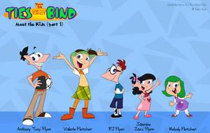 PnF: Ties That Bind Kids (1 of 3) by KicsterAsh