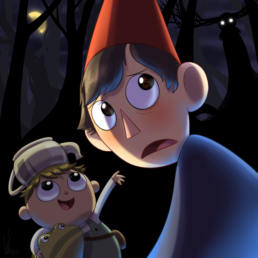 Beware The Beast Over The Garden Wall By Kicsterash On Deviantart