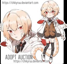adopt auction CLOSED [snek] by Chikyruu