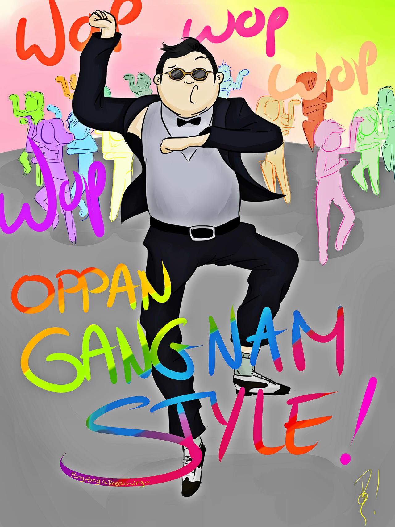 GANGNAM STYLE by PongPongDream