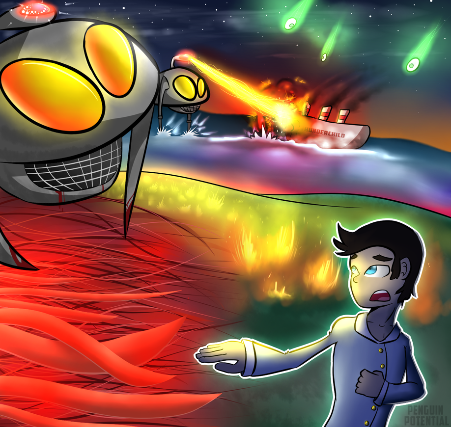 War of the Worlds Musical by Penguin-Potential