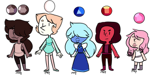 Small Canon Gem Adopts (2/5 OPEN)