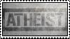 atheist stamp by enderdork