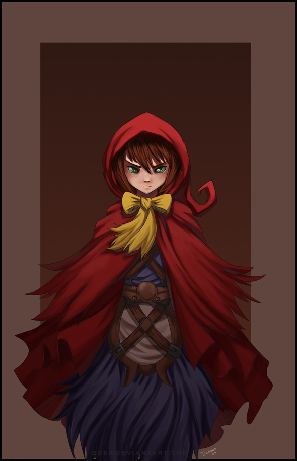 Little Red Riding Hood by 2Dea
