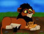 Scar Meets Simba