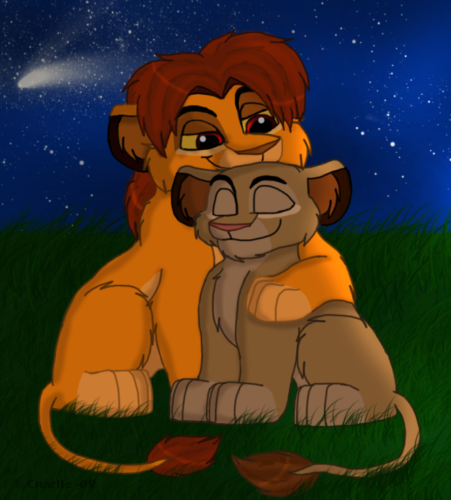 Mufasa And Sarabi by Charlie-Breen