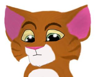 Ginger Kitten by Charlie-Breen