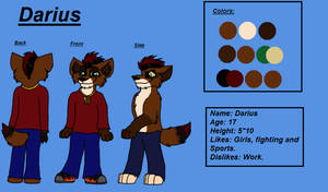 Darius Reference sheet by Charlie-Breen