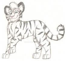 White Tiger Sketch