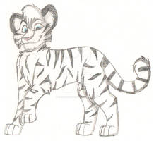 White Tiger Sketch