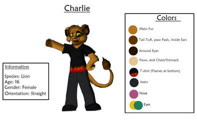 Charlie Ref Sheet
