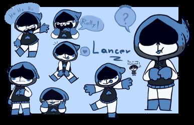 Lancer party by GrumpyGhosty