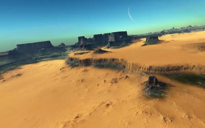 Growing Desert by LightDrop
