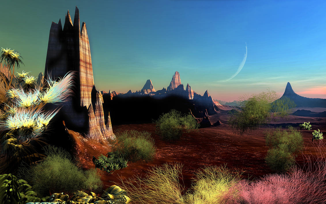 Desert Spring by LightDrop
