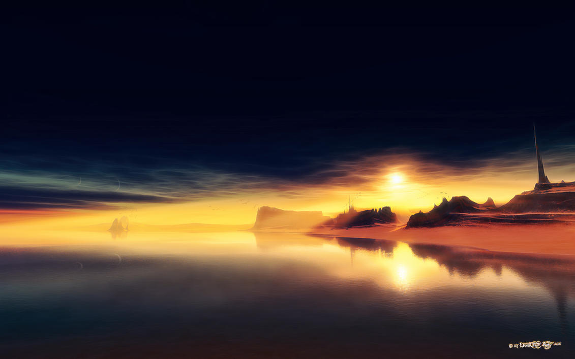Mnemosyne's Island by LightDrop