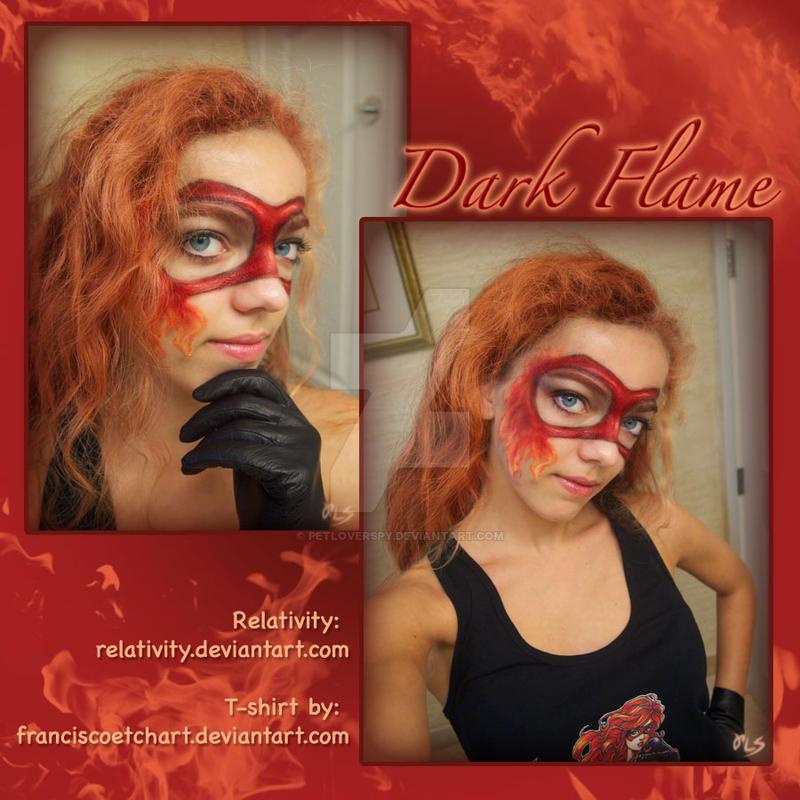 Dark Flame Mask by PetLoverSpy