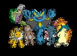 The Cool Squad (POKEMON)