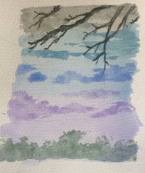 Sky scene 3 by TinaLouiseBrown