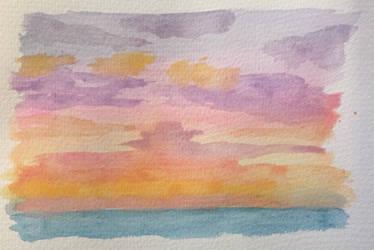 Sky scene 5 by TinaLouiseBrown