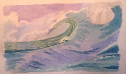 Big Wave 2 by TinaLouiseBrown