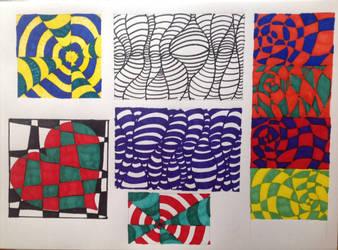 Exploring Op Art by TinaLouiseBrown
