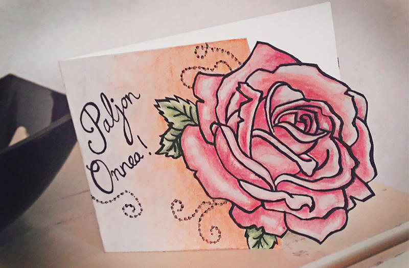 Birthday card to grandma by rockingroses on deviantart for What to buy grandmother for birthday