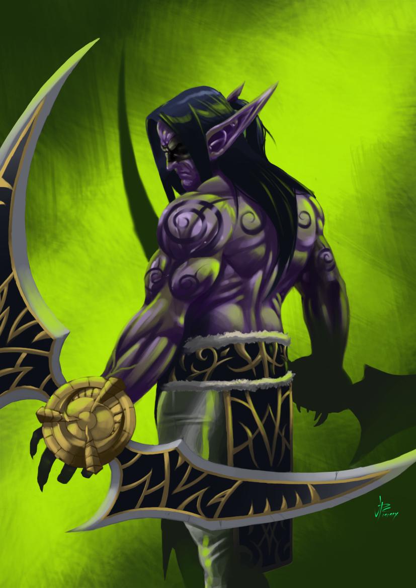 novos kits Illidan_Stormrage_Demon_Hunter_by_hupao