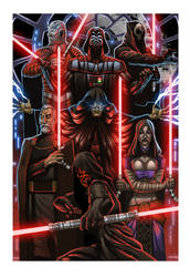 Sith Lords by OldManLefty