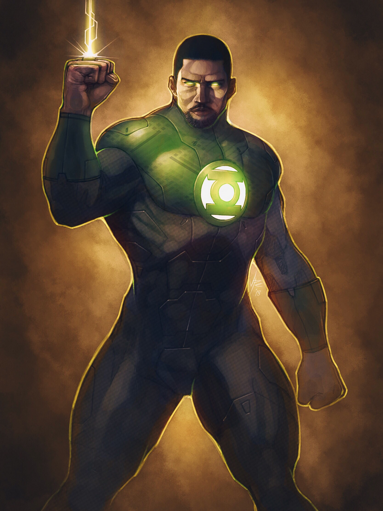Green Lantern by OldManLefty