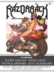 Razorback 28th Anniversary Poster by OldManLefty