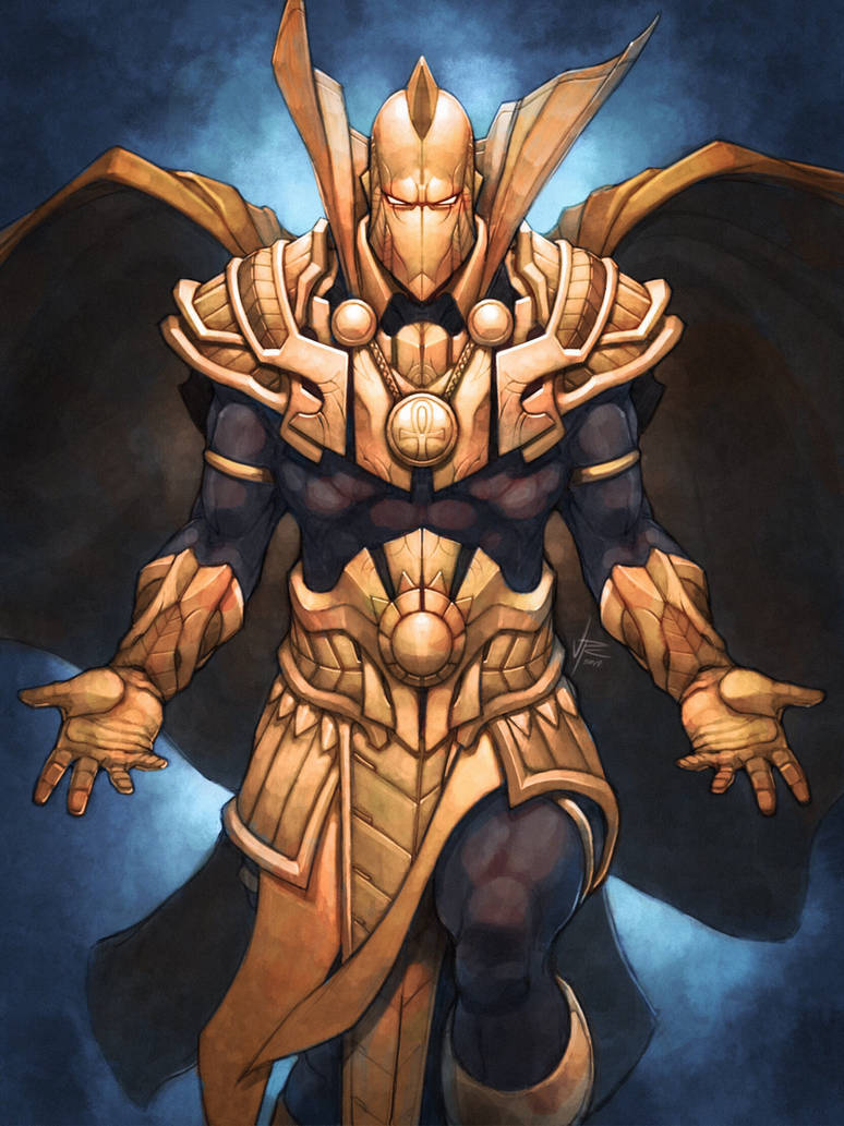 Doctor Fate by OldManLefty