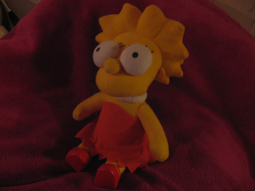 Lisa simpsons plush by mirry92