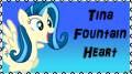Tina Fountain Heart - the stamp by mirry92