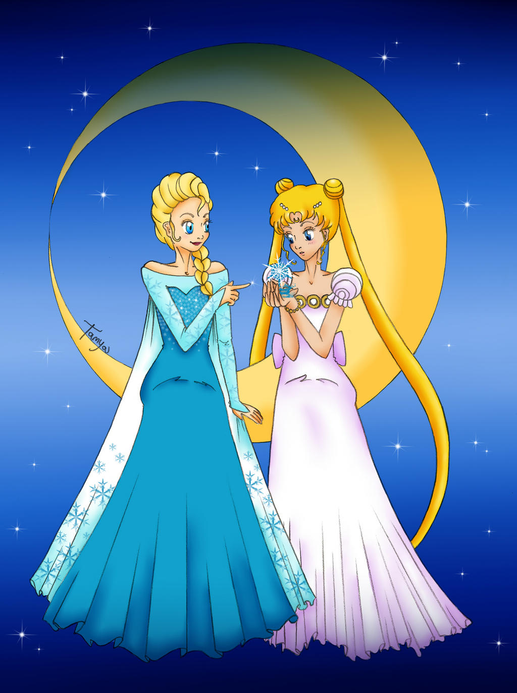 Disney on sailormooncrossover