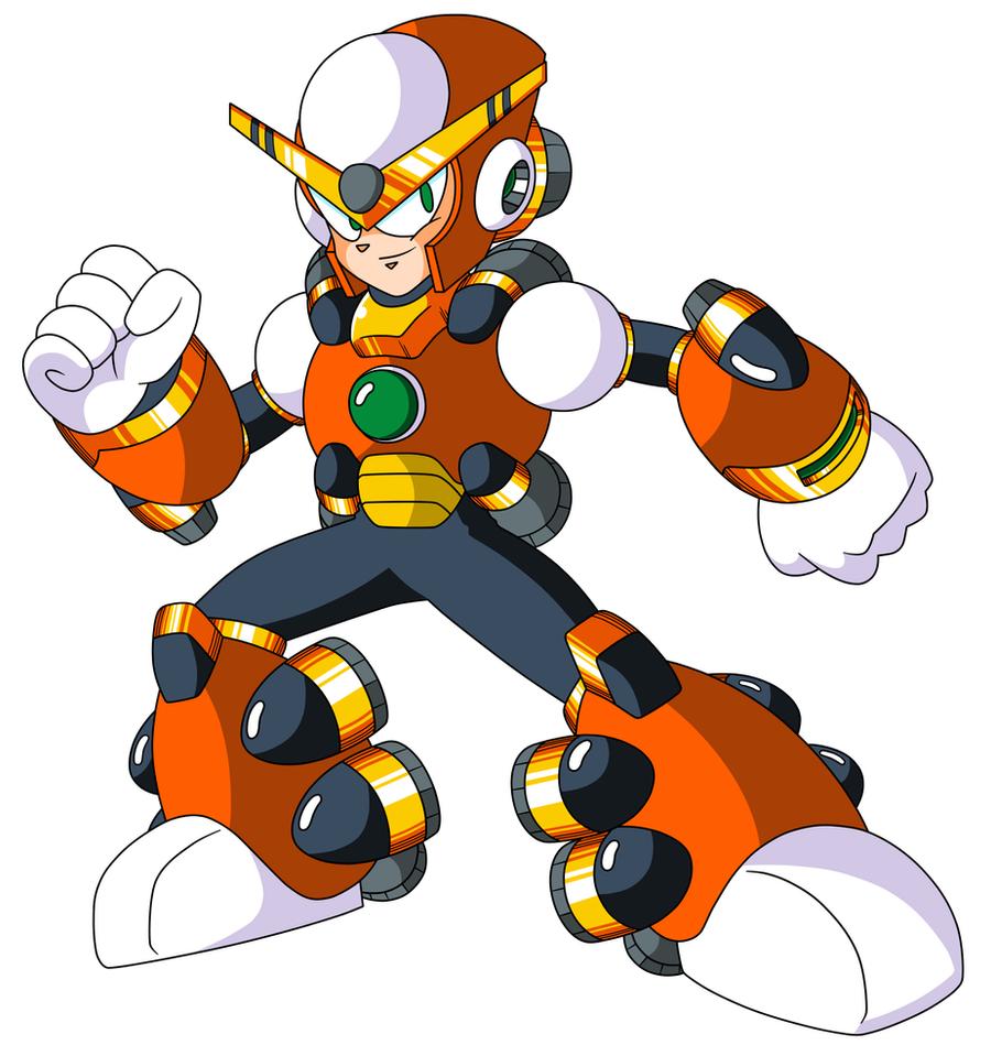 Mega Man TT's Boost Man by JusteDesserts