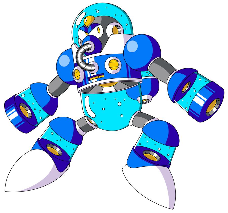 Mega Man TT's Flood Man by JusteDesserts