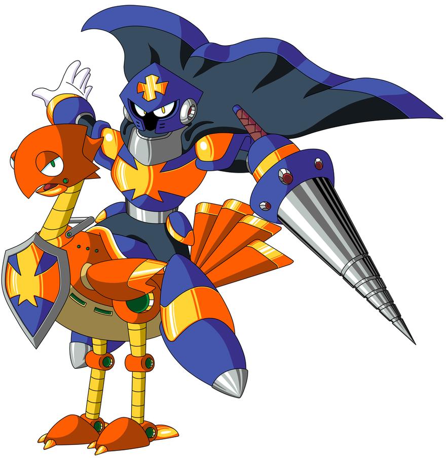 Mega Man TT's Templar Man by JusteDesserts