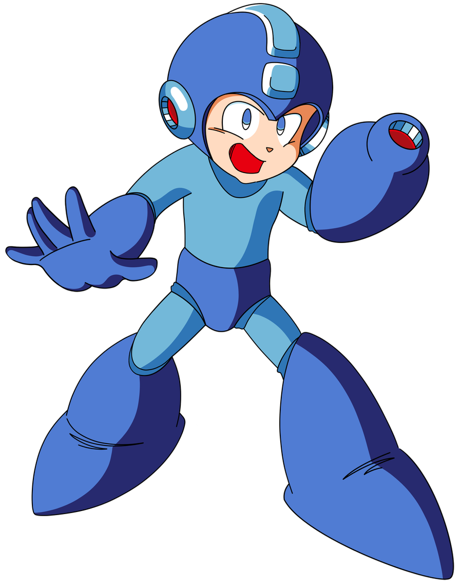 Mega Man TT's Mega Man by JusteDesserts