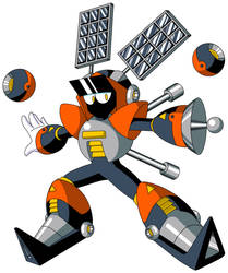 Mega Man TT's Nebula Man